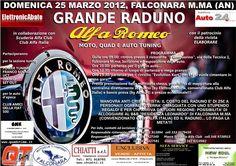Raduno Alfa Romeo Ancona il 25 Marzo 2012, Inscrivetevi! Vi aspettiamo numerosi!!!