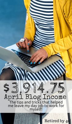 April was an awesome blog income month!  I left my day job to work for myself, which presented plenty of challenges, believe me!  Plus, I have a cool opportunity for you! http://www.retiredby40blog.com/2015/05/04/traffic-blog-income-report-april-2015/