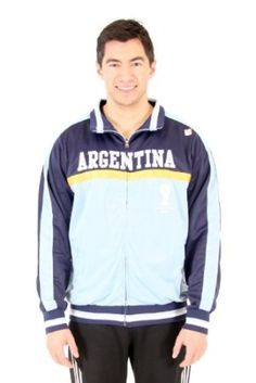 Argentina FIFA 2014 World Cup Soccer Embroidered Track Jacket is available @ http://www.world-cup-products-worldwide.com/argentina-football-2014-world-cup-soccer-jacket/