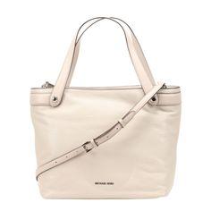 Michael Kors Hyland Cement Convertible Tote Bag