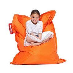 4-Foot Fatboy Junior Large Bean Bag Chair - JUN-BRN