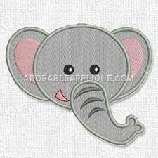 Resultado de imagem para bordados em pes gratis elefante para maquina de bordado