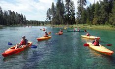 Southern Oregon - Book a fall canoeing trip on Upper Klamath Lake with Roe Outfitters.