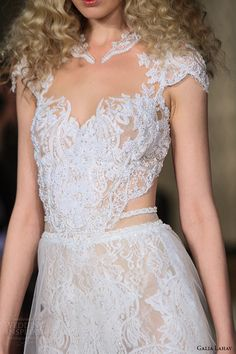Galia Lahav Spring 2016...Gorgeous details to recreate.Take 1-3 details & design your custom-made wedding dress.