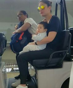 Taimur Ali Khan, Saif Ali Khan, Celebrity Kids, Celebrity Pictures, Celebrity Style, Bollywood Stars, Bollywood Fashion, Mommy And Me Outfits, Kids Outfits