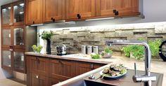 Kuchyňa Sykora Georgio orech New Kitchen, Georgia, Sweet Home, Kitchen Cabinets, Design, Home Decor, Type 1, Kitchens, Facebook