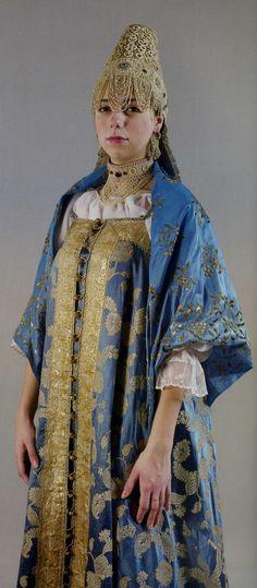 Девичий праздничный костюм. ХIХ век. Нижегородская губерния Повязка, сарафан, душегрея