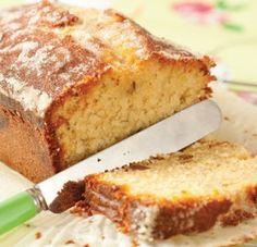 Elderflower cake featured