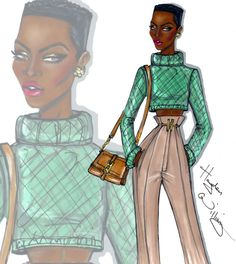 Hayden Williams Illustrations 'The IT Girl' by Hayden Williams