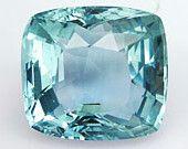 31.66 CT. Topaz Cushion Cut Blue Color $89.00