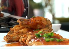 Coca-Cola BBQ Wings by Chef G. Garvin | chefgarvin.com