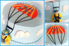 Skydiving Cake