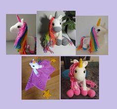 Demi Bride Crochet, Creative Bubble, Crochet Amigurumi, Dinosaur Stuffed Animal, Etsy, Animals, Crochet Hook Sizes, Tuto Doudou, Unicorns