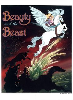 Concept art for cancelled Don Bluth film - Beauty and the Beast
