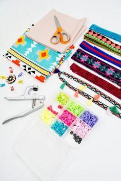 Tutorial Tasche aus Bändern #fashionbag #tasche #tutorial #schnittgeflüster #diy #handmade #nähen #sewing