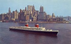 SS United States - Maiden voyage on 03.07.1952 and since 1996 docked in Philadelphia.