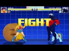 The Annoying Orange And Jubilee VS Captain Marvel & Rainbow Dash In A MUGEN Match / Battle / Fight This video showcases Gameplay of Rainbow Dash From The My Little Pony Friendship Is Magic Series And Captain Marvel The Superhero VS Jubilee The Member Of The X-Men And The Annoying Orange In A MUGEN Match / Battle / Fight