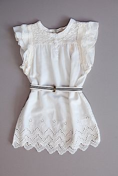 Scotch R' Belle Lace Belted Tunic   Hillary Kids
