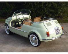 Fiat 500 -Jolly Ghia- d'epoca a Castelli Calepio
