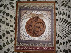 Handmade Christmas Card Xmas Card by CardsbyEileen on Etsy