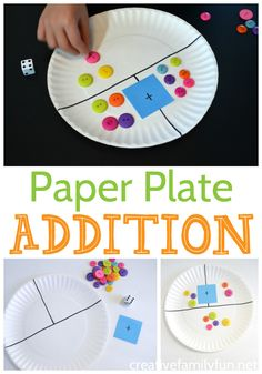 Paper Plate Addition Game