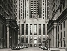 Thomas Struth. 'South Lasalle Street, Board of Trade, Chicago' 1992