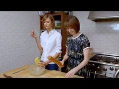How To Bake Oatmeal Scones With Karlie Kloss and Elettra Wiedemann -- Elettra's Goodness -- Vogue - YouTube