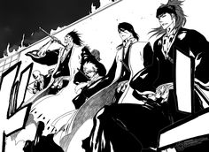 making an entrance... like a boss (well 5 of them!) #Bleach