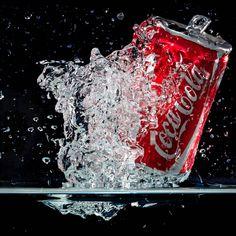 Photograph Coca Cola Splash by Pierre Karanatsios on 500px