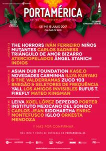 Festival PortAmérica desvela su cartel
