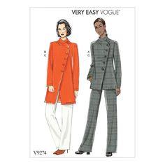 Patron Vogue 9274 Patron Vogue 9274 Ensemble veste et pantalon