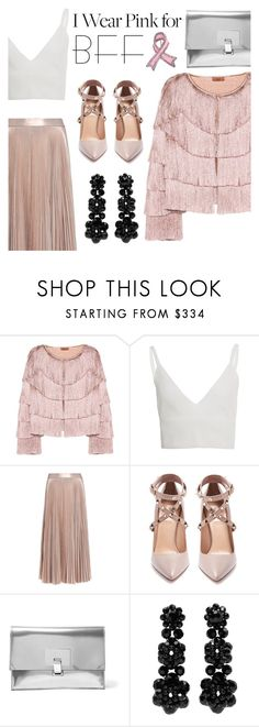 """""""I Wear Pink for My Bff"""" by pure-vnom ❤ liked on Polyvore featuring Missoni, Zeynep Arçay, A.L.C., Valentino, Proenza Schouler, Simone Rocha, Bling Jewelry and BREASTCANCERAWARNESS"""