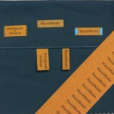 HandMade-merkit liuskassa 30kpl Handmade, Hand Made, Handarbeit