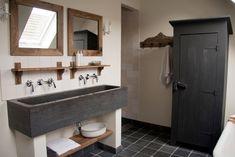 Afbeeldingsresultaat voor landelijke badkamer