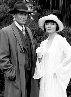 Jack and Phryne looking fabulous as usual in Miss Fisher's Murder Mysteries