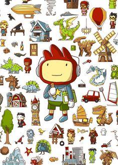 30 Best Scribblenauts images in 2013 | Video games, Wii u