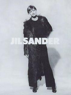 ☆ Linda Evangelista | Photography by Peter Lindbergh | For Jil Sander Campaign | Fall 1993 ☆ #Linda_Evangelista #Peter_Lindbergh #Jil_Sander #1993