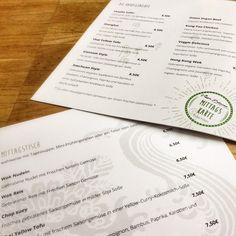 Wir haben für Veggie Delicious Speisekarten entwickelt :)