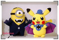 Ravelry: Pikachu Halloween (Pokemon) pattern by Sabrina Somers