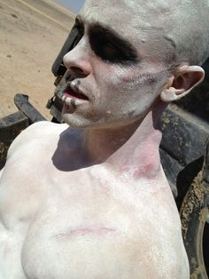 """The set of """"Mad Max: Fury Road"""". Warboys"""
