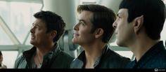 Karl, Chris & Zachary as Bones, Jim & Spock.