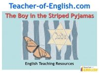 the boy in the striped pajamas character analysis movie  ks3 english teaching resources the boy in the striped pyjamas contains a range of lessons