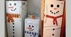 Μετατρέψτε το ψυγείο σας σε χιονάνθρωπο!