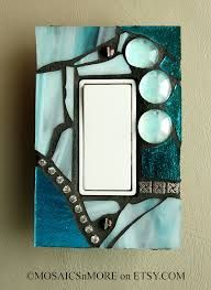 Image result for ice blue light switch covers
