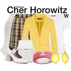 Inspired by Alicia Silverstone as Cher Horowitz in 1995's Clueless