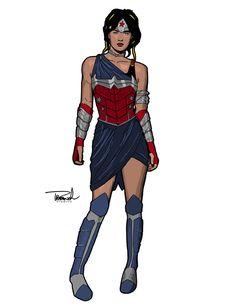 """""""Wonder Woman 3"""" by Thomas Branch"""