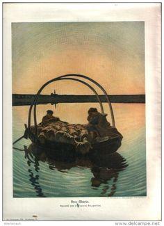 """Ave Maria  - Druck, entnommen  aus """"die Gartenlaube"""", 1910"""