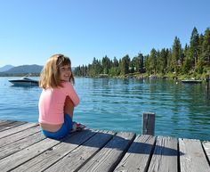 Another sunny summer day at Lake Tahoe near Cascade Properties. Calm waters and views of the surrounding Sierra Mountains - magical. Come discover Lake Tahoe for your next summer vacation.