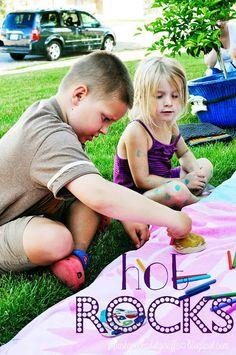 Summer Craft: Hot Rocks