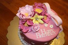 Floral Birthday Cake Designs Ideas